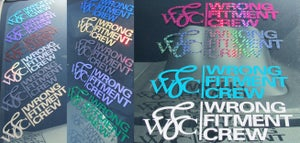 Image of *CLEARANCE* wrong fitment crew - decals *CLEARANCE*