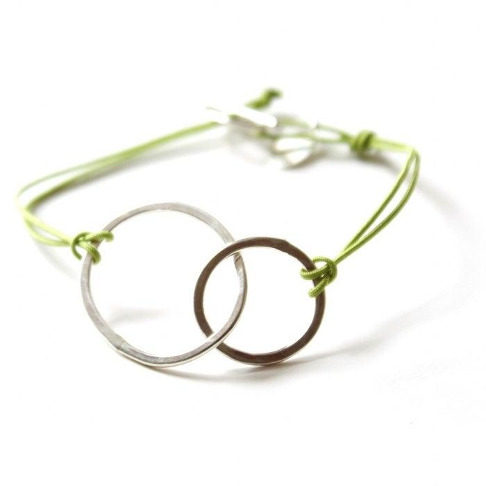 Double loop bracelet / Little Object