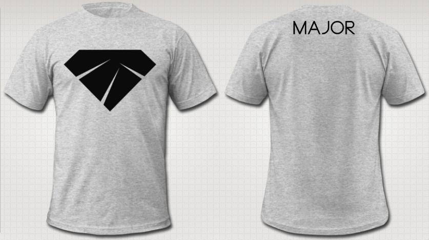 """Image of BW """"Diamond"""" - Male T"""
