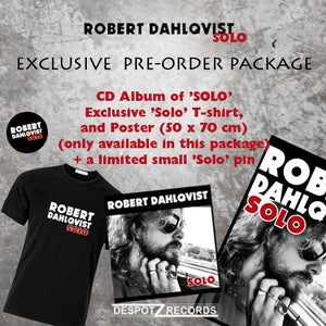 Image of Robert Dahlqvist - Solo [CD] package