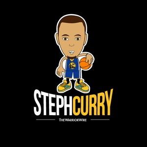 "Image of ""Steph Curry"" Tee - Color: BLACK"