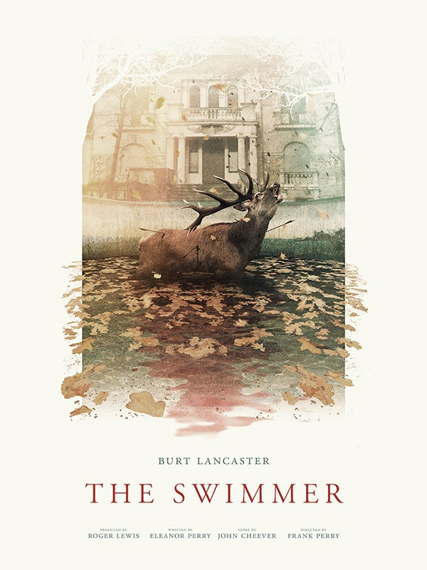 Image of The Swimmer Limited Edition Giclée Print