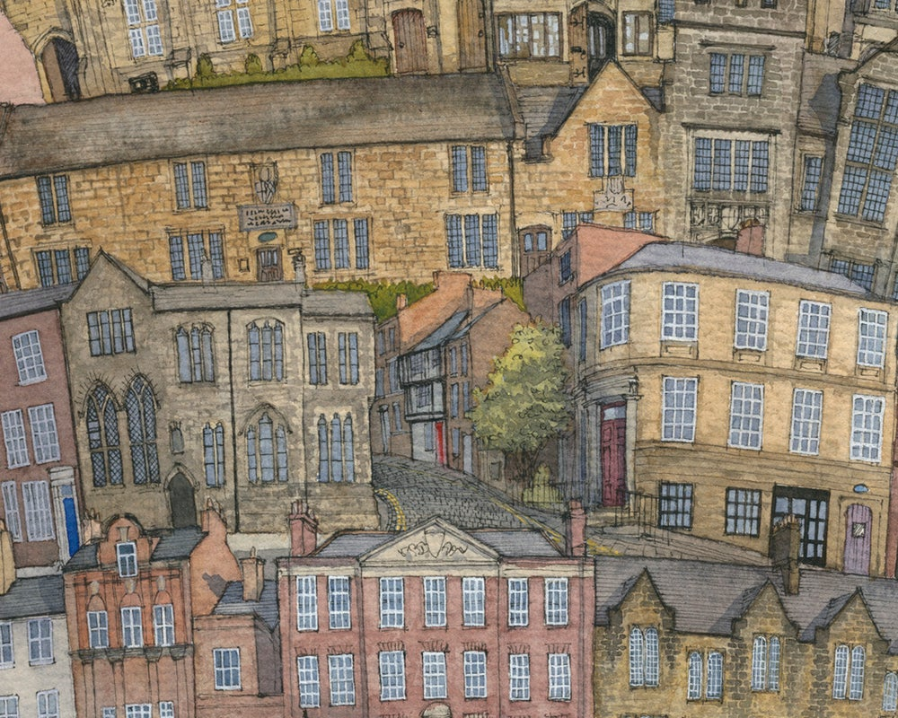 Image of Back to the Tower of Durham