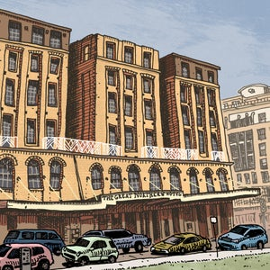 Image of Great Northern Hotel Limited Edition Digital Print