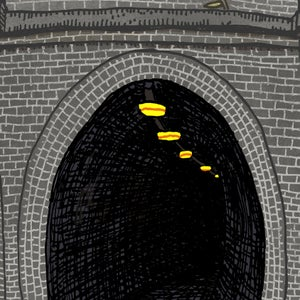 Image of Fernleigh Track Tunnel Limited Edition Digital Print