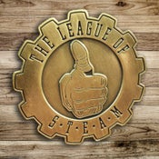 Image of Mighty Brass League Logo Pin
