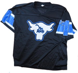 Image of WWF The Rock Football Jersey