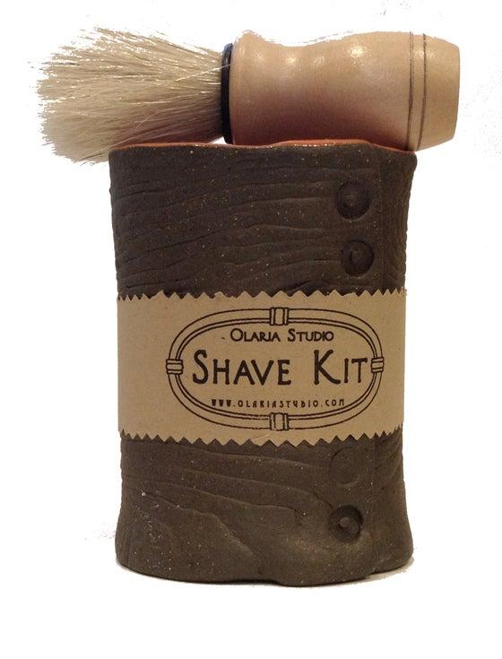 Image of Men's Fois Bois Shave Kit - Stoneware