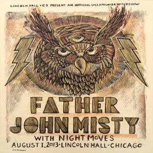 Image of Father John Misty at Lincoln Hall Lollapalooza aftershow