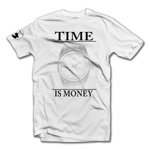Image of PLATINUM Time Is Money Tee (White)
