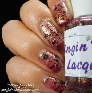 Image of Dirty Girl handmade 3 free nail polish.