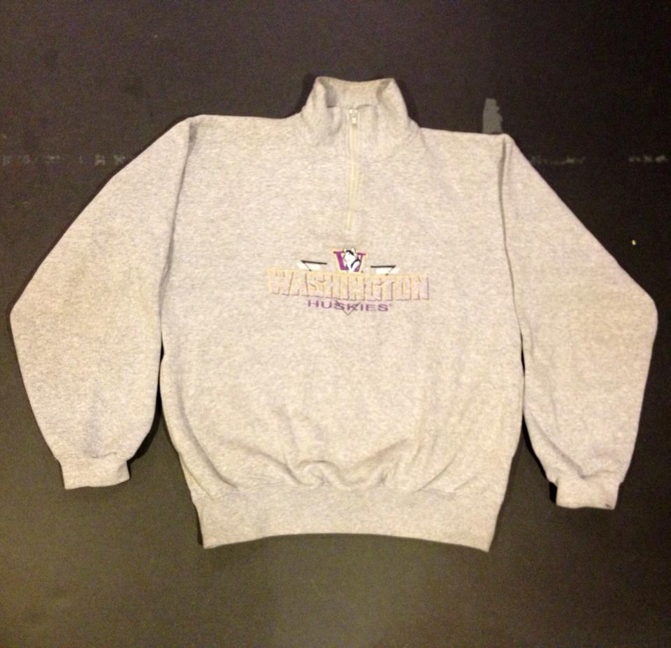 Image of huskies quarter zip