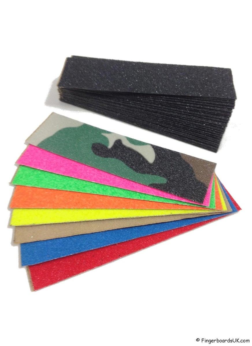 FBUK Fingerboard Silica Carbide Grit Tape Fingerboards