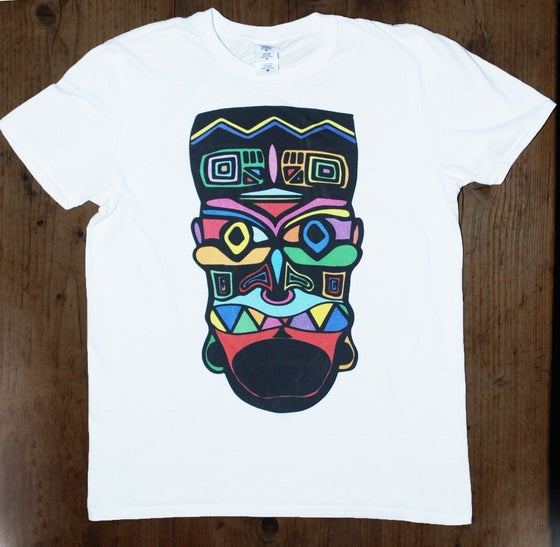 Image of Coloured tiki Tee