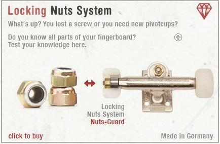 Image of Blackriver Trucks First Aid Lock Nut System 2pk