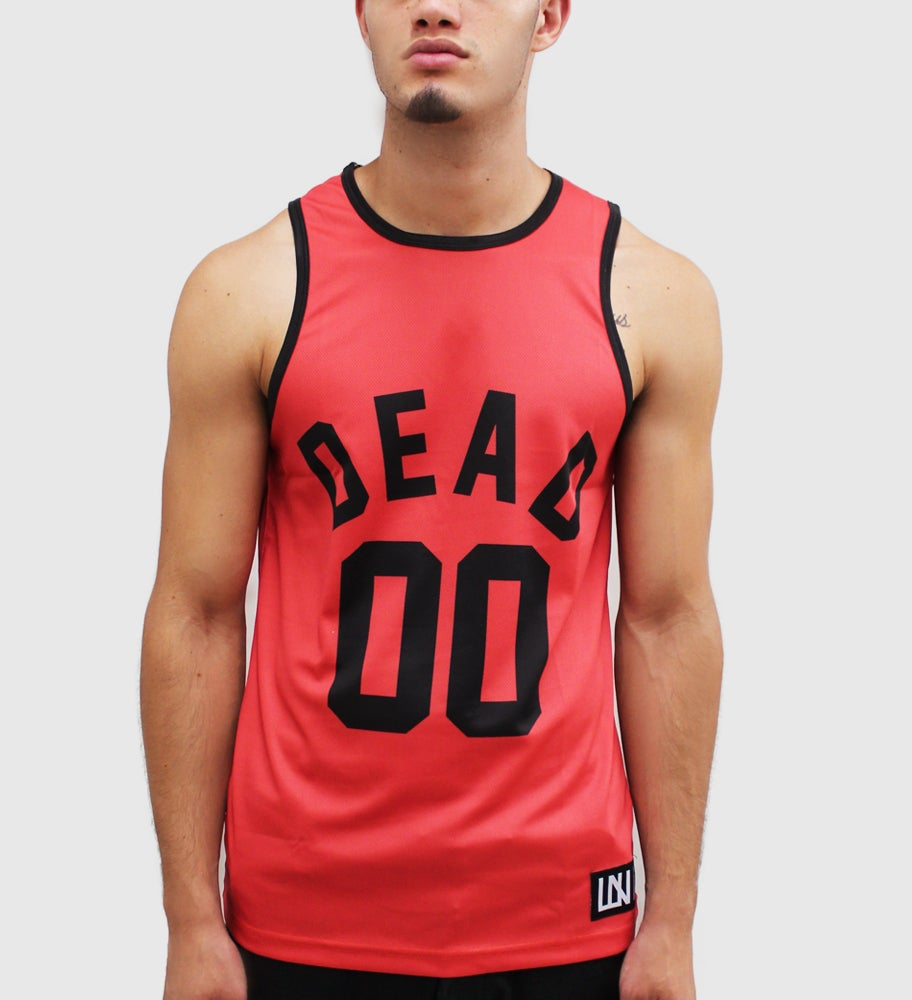 Image of Dead Tank Top Jersey