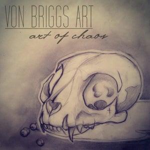 Image of Cat Skull [Rebecca Von Briggs]