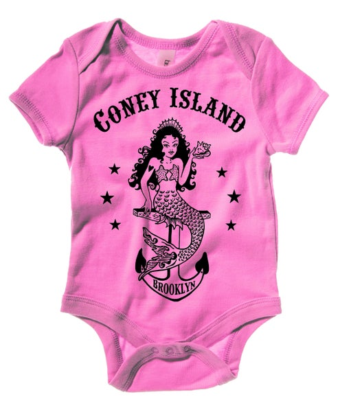 Image of Coney Island Mermaid Baby Pink