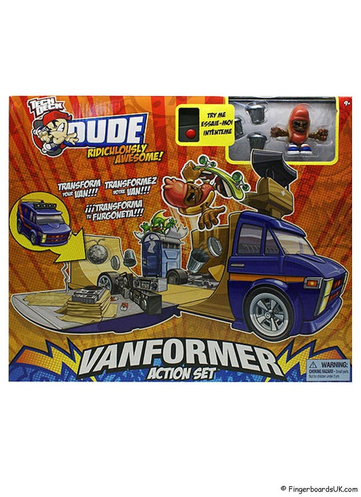 Image of Tech Deck Dudes Vanformer Action Set