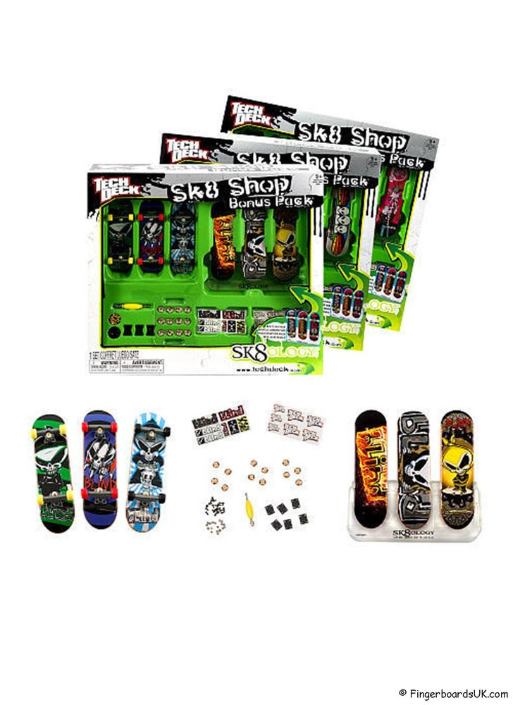 Image of Tech Deck Sk8 Shop & Sk8ology Display System