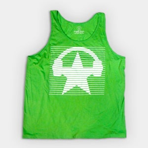 Image of Neon Blinds Tank Top - Unisex (GREEN)
