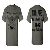 Image of NEW Without Regret/AVA Crest/Lyric Shirt