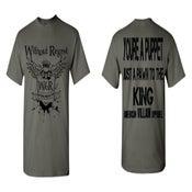 Image of NEW Without Regret/AVA Crest/Lyric Shirt