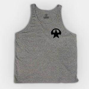 Image of Grey starphones chest print - Unisex