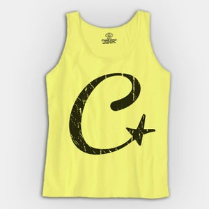 Image of C-Star Tank Top- Unisex (YELLOW)