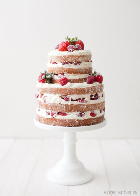 Image of Naked Strawberry Shortcake