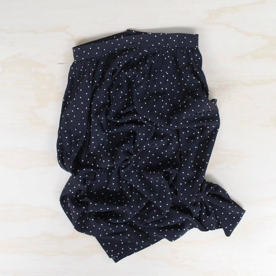 Image of ungaro silk midi skirt