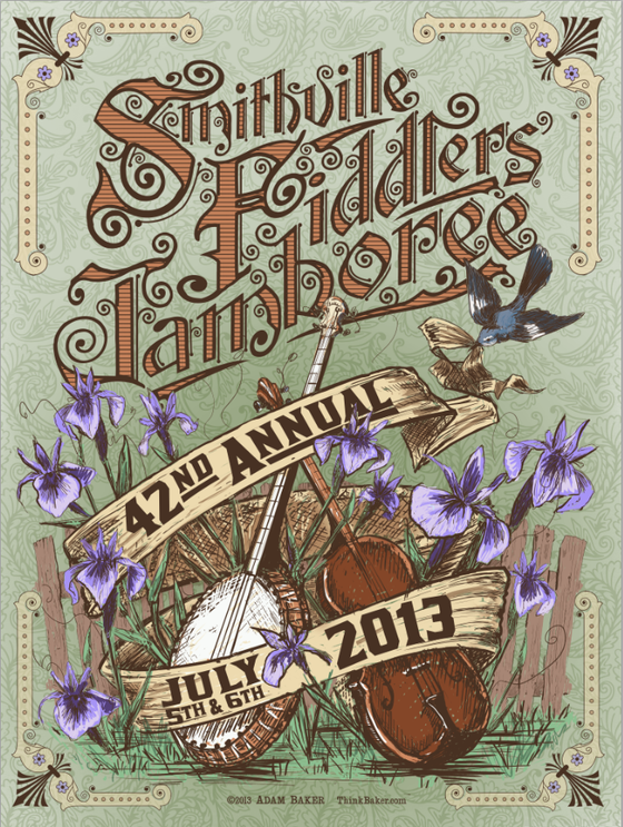 Image of 42nd Annual Smithville Fiddlers Jamboree Official Poster
