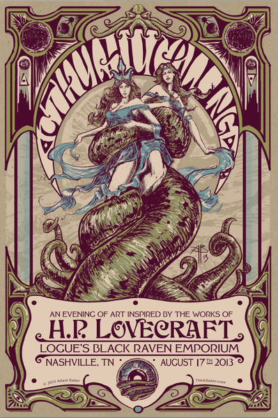 Image of Cthulhu Calling 2013 - Official Show poster