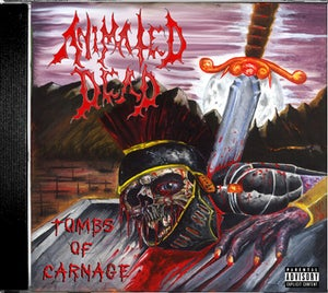 Image of Animated Dead - Tombs of Carnage CD