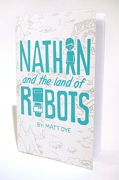 Image of Nathan and the Land of Robots - Comic