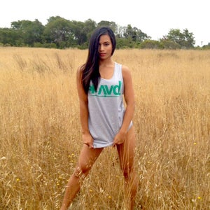 Image of AVD Classic Logo Tank (Heather Grey)