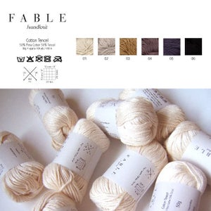 Image of Fable Handknit Cotton Tencel Yarn