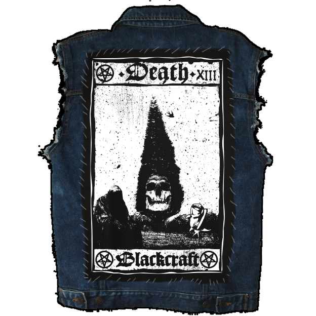 Image of Death Card - Back Patch