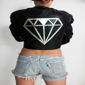Image of LOVEGANG Iconic Vintage Leather Jacket