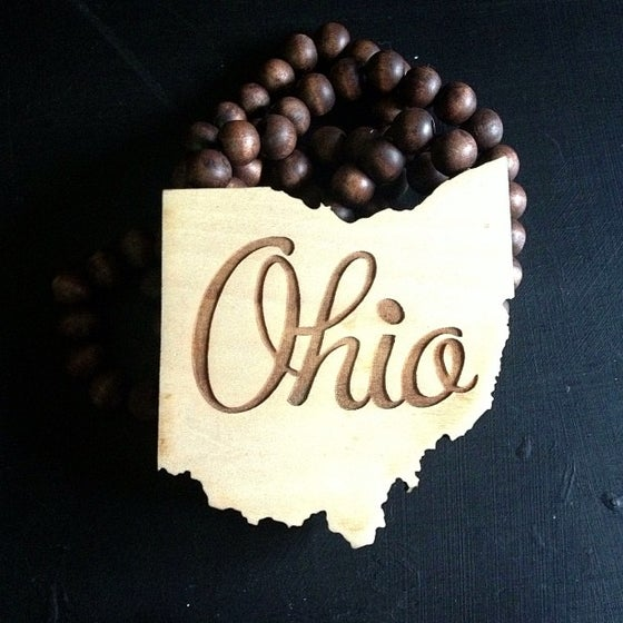 Image of Ohio - State Outline Necklace