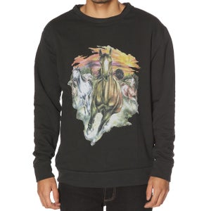 Image of RUNNING HORSES SWEATER