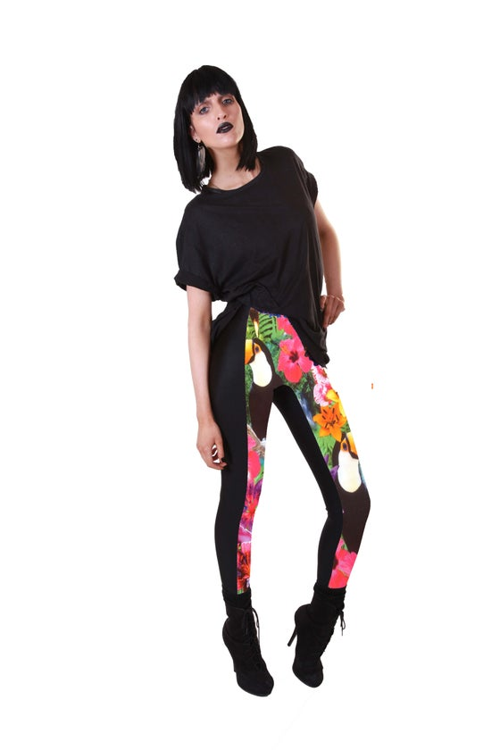 Image of NICO Leggings in TROPICAL TRIP Digital Print