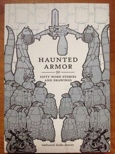 """Image of NATE DENVER'S NECK """"Haunted Armor"""" Book + Album"""