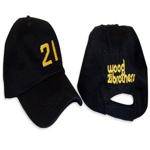 Image of Wood Brothers Team Hat : Gold on Black