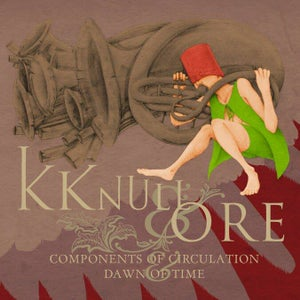 Image of ENDTYME003 - KK NULL / ORE - 'COMPONENTS OF CIRCULATION / DAWN OF TIME' 7""