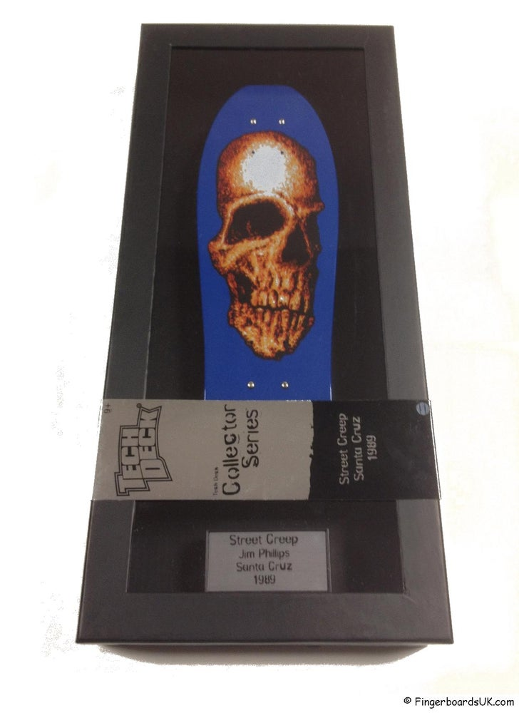 Image of Tech Deck Collectors Series Deck Santa Cruz Jim Phillips Street Creep 1989 Deck