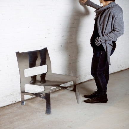 Image of RANDOM CHAIR AGAINST THE WALL