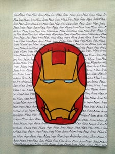Image of Iron Man Mask Painting