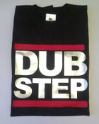 Image of DUB STEP Logo Black Mens T-shirt