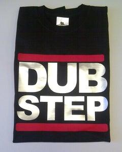Image of DUB STEP Logo Black Mens T-shirt